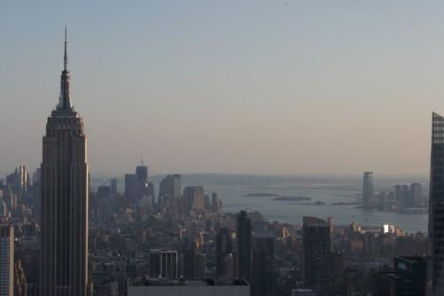 Uitzicht vanaf het Rockefeller Center