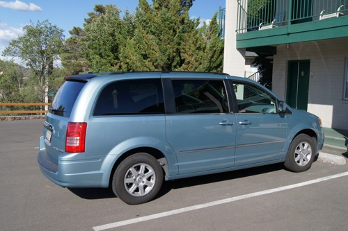 Een Chrysler Town & Country Touring