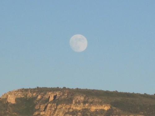 Geen Crescent Moon op weg naar Sedona