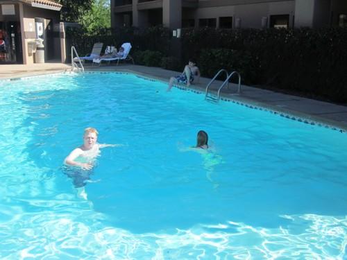 Bouko heeft een nieuwe zwembroek