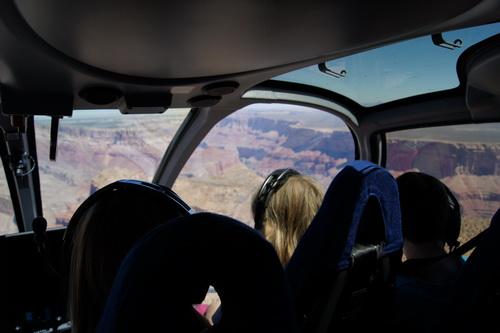 Onze helikoptervlucht!