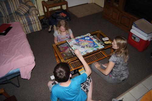 Een spelletje Monopoly