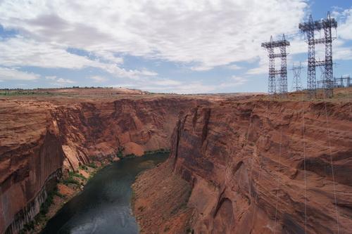 De Colorado rivier levert veel stroom