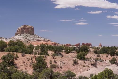 Onderweg naar Monument Valley