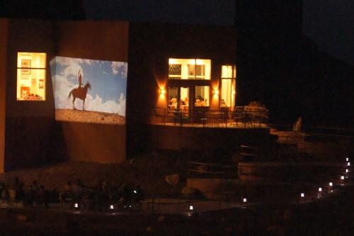 Een van de vele westerns gefilmd in Monument Valley