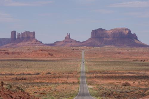De Forrest Gump road