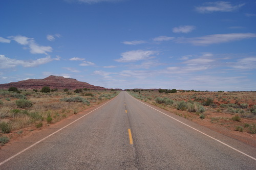 Op weg van Cortez richting Canyonlands NP