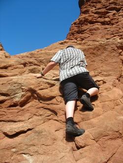 Bouko klimt ook de tweede arch in