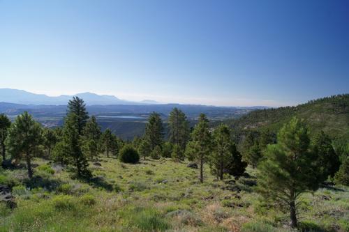 Onderweg van Torrey naar Bryce Canyon NP