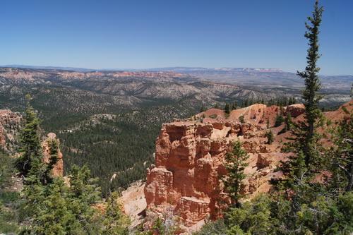 Uitzicht vanaf uitkijkpunt Black Birch Canyon