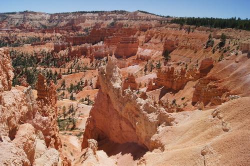 Uitzicht over de canyon