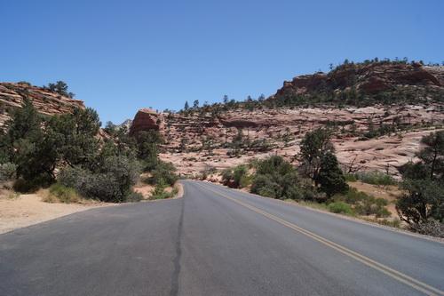 Op weg van Bryce naar Zion