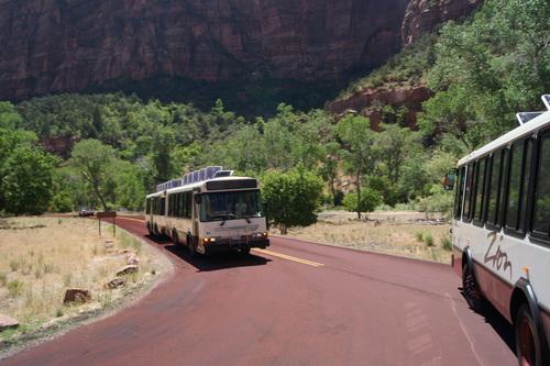 Zion NP Shuttlebus