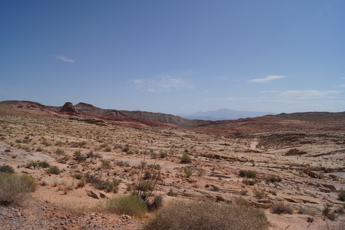 Landschap in de Valley of Fire