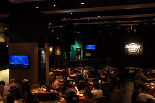 Avondeten in Hard Rock Cafe Hollywood