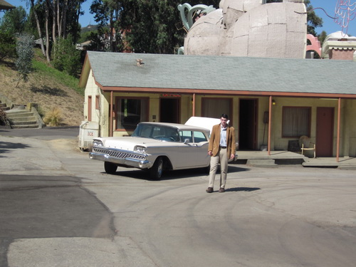 Norman Bates was niet blij met ons bezoek