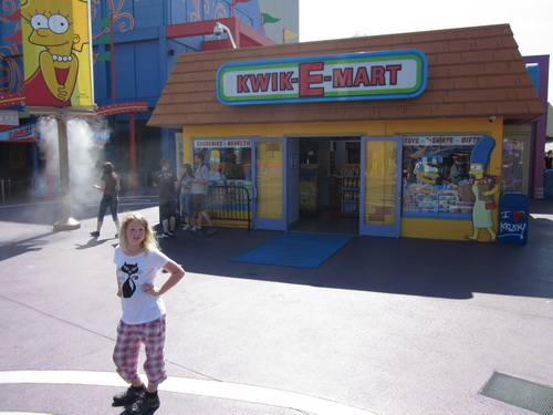 Ilse voor The Simpsons Ride