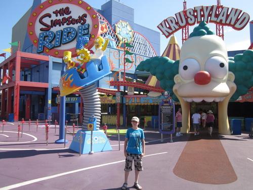 Kees voor The Simpsons Ride
