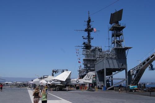 Op de USS Midway