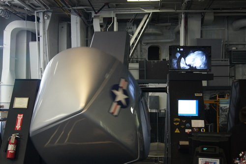 Vlucht van Kees en Jolanda in een simulator